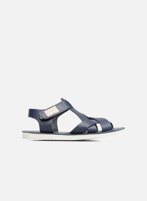 Sandales et nu-pieds Kavat Nynas XC Bleu vue derrière
