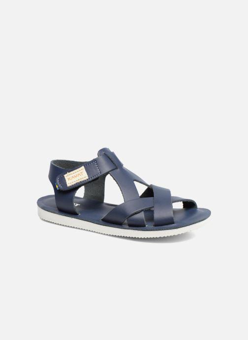 Sandales et nu-pieds Kavat Nynas XC Bleu vue détail/paire
