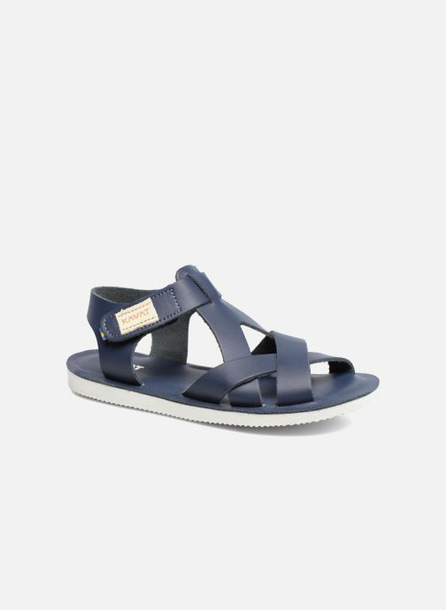 Sandals Kavat Nynas XC Blue detailed view/ Pair view