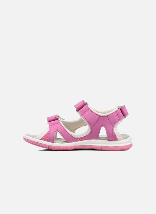 Sandales et nu-pieds Kavat Torsby Rose vue face