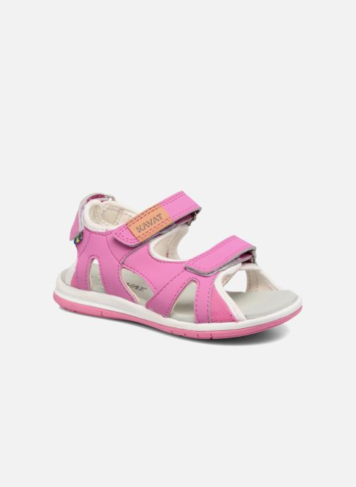 Sandals Kavat Torsby Pink detailed view/ Pair view