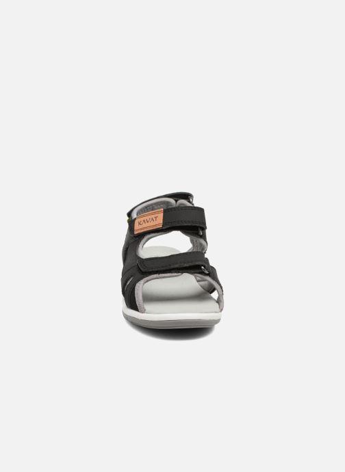 Sandales et nu-pieds Kavat Torsby Noir vue portées chaussures
