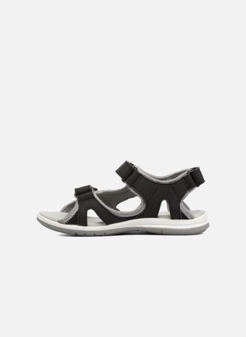 Sandales et nu-pieds Kavat Torsby Noir vue face