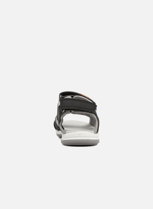 Sandals Kavat Torsby Black view from the right