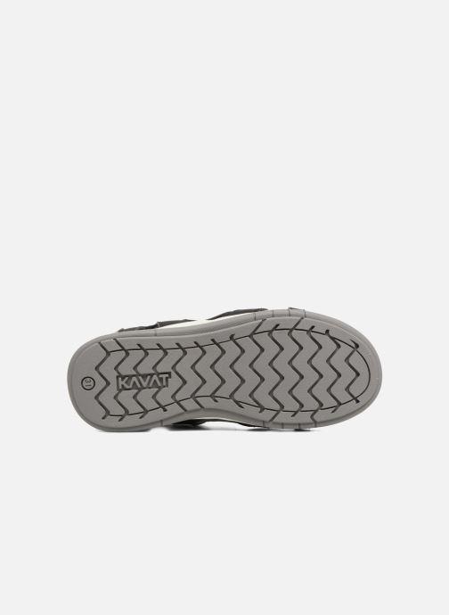 Sandales et nu-pieds Kavat Torsby Noir vue haut