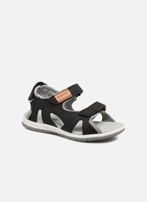 Sandales et nu-pieds Kavat Torsby Noir vue détail/paire