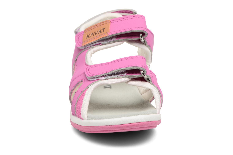 Sandalen Kavat Torsby rosa schuhe getragen