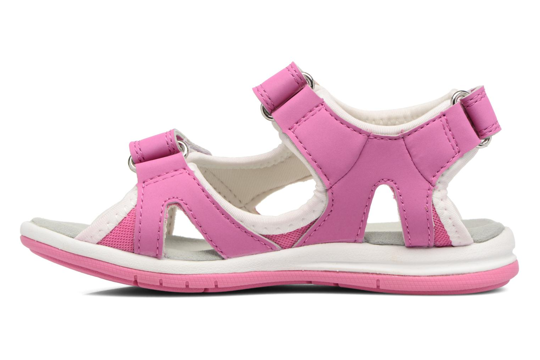Sandalen Kavat Torsby rosa ansicht von vorne
