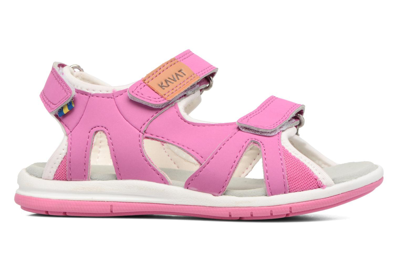 Sandalen Kavat Torsby rosa ansicht von hinten