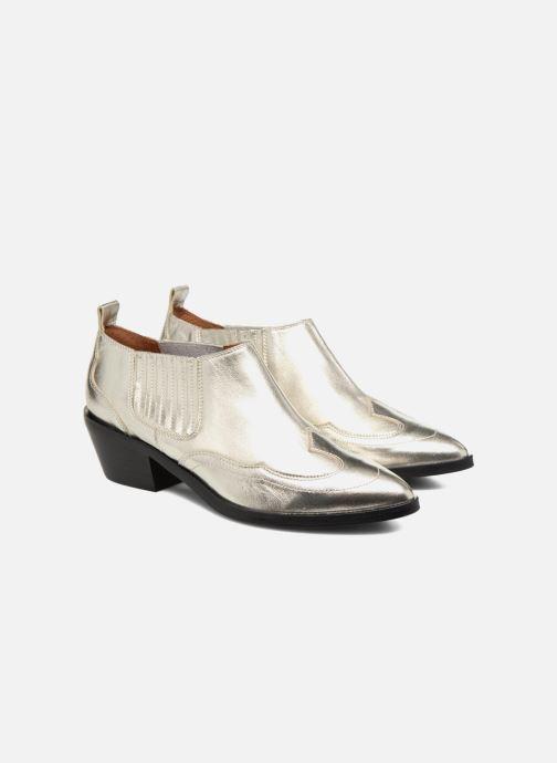 Bottines et boots Made by SARENZA Rock-a-hula #2 Argent vue derrière