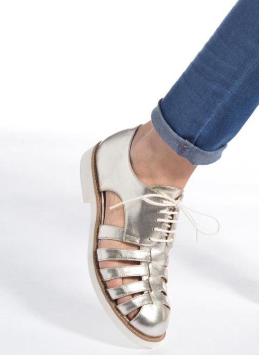 Veterschoenen Made by SARENZA 90's Girls Gang Chaussures à Lacets #6 Zilver onder