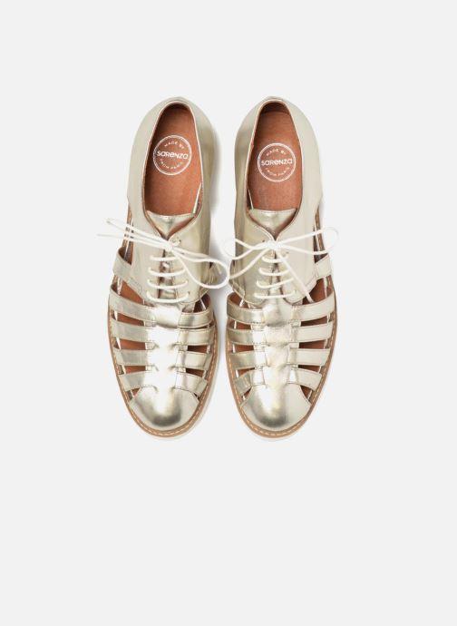 Veterschoenen Made by SARENZA 90's Girls Gang Chaussures à Lacets #6 Zilver model