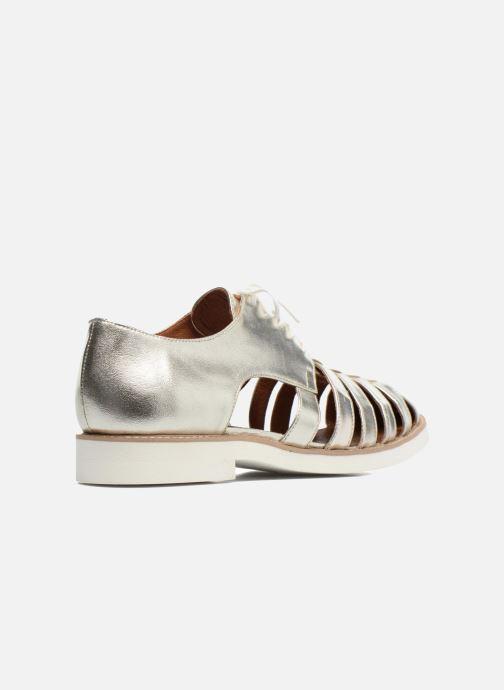 Veterschoenen Made by SARENZA 90's Girls Gang Chaussures à Lacets #6 Zilver voorkant