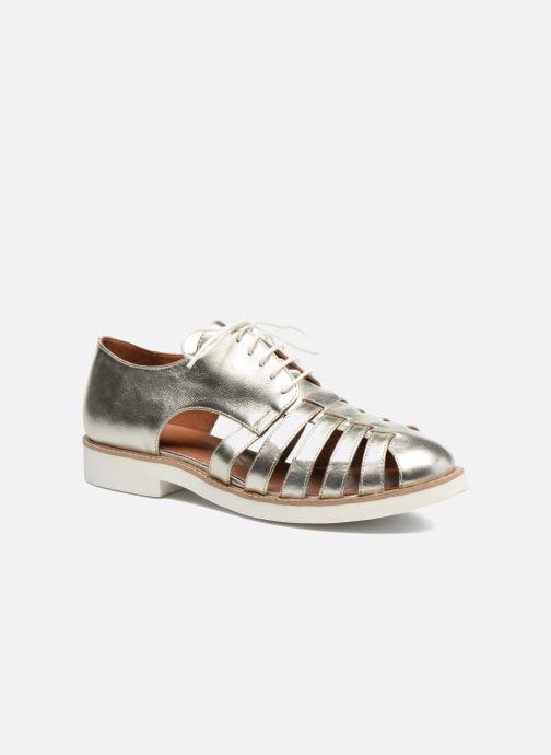 Veterschoenen Made by SARENZA 90's Girls Gang Chaussures à Lacets #6 Zilver rechts