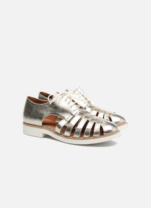 Veterschoenen Made by SARENZA 90's Girls Gang Chaussures à Lacets #6 Zilver achterkant