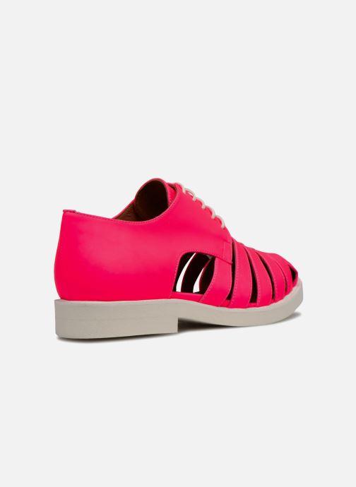 Veterschoenen Made by SARENZA 90's Girls Gang Chaussures à Lacets #6 Roze voorkant