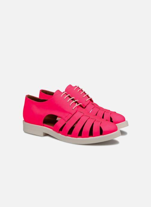 Veterschoenen Made by SARENZA 90's Girls Gang Chaussures à Lacets #6 Roze achterkant