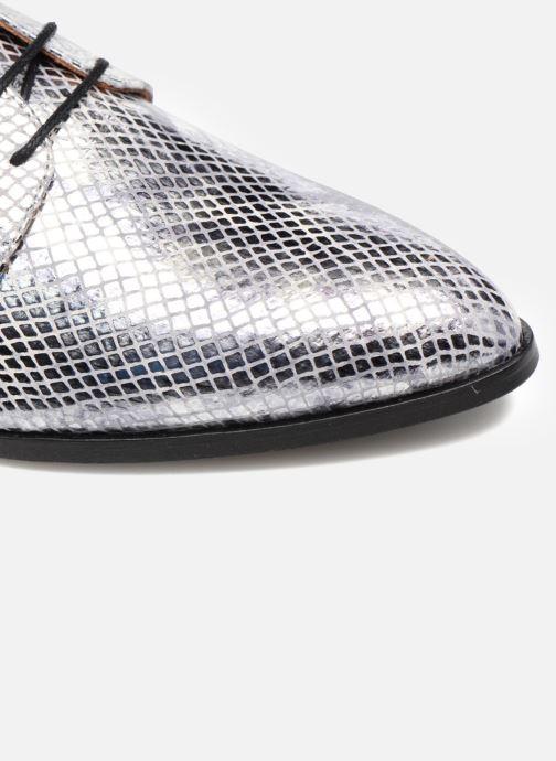 Chaussures à lacets Made by SARENZA Vegas Lipstick #6 Argent vue gauche