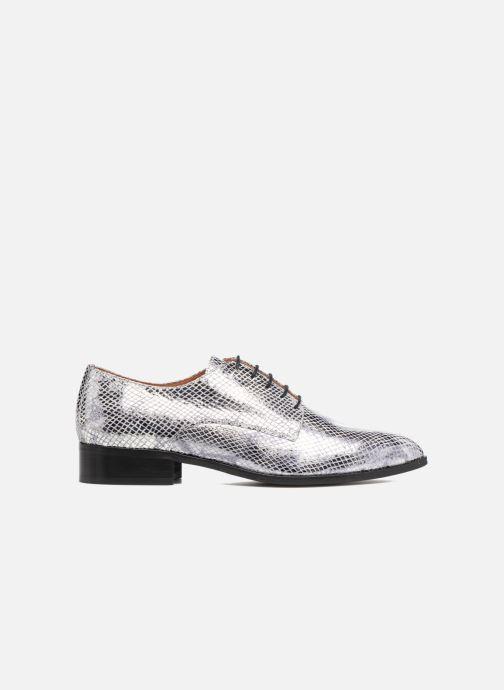 Chaussures à lacets Made by SARENZA Vegas Lipstick #6 Argent vue détail/paire