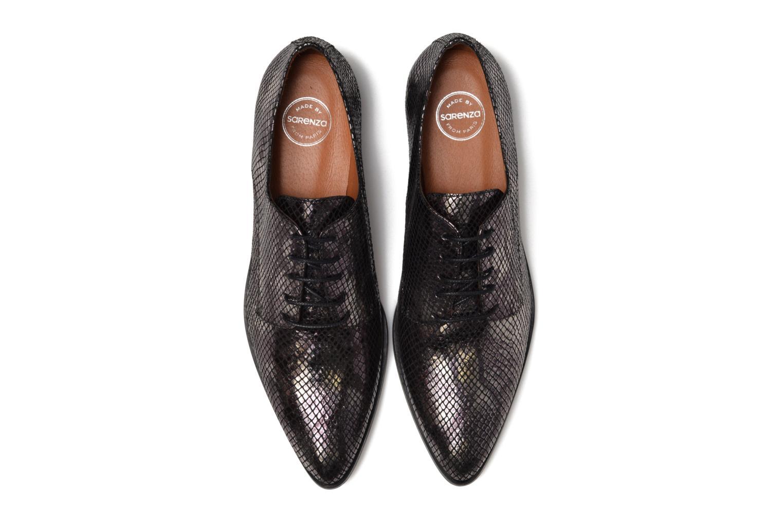 Snøresko Made by SARENZA Vegas Lipstick #6 Sort se skoene på