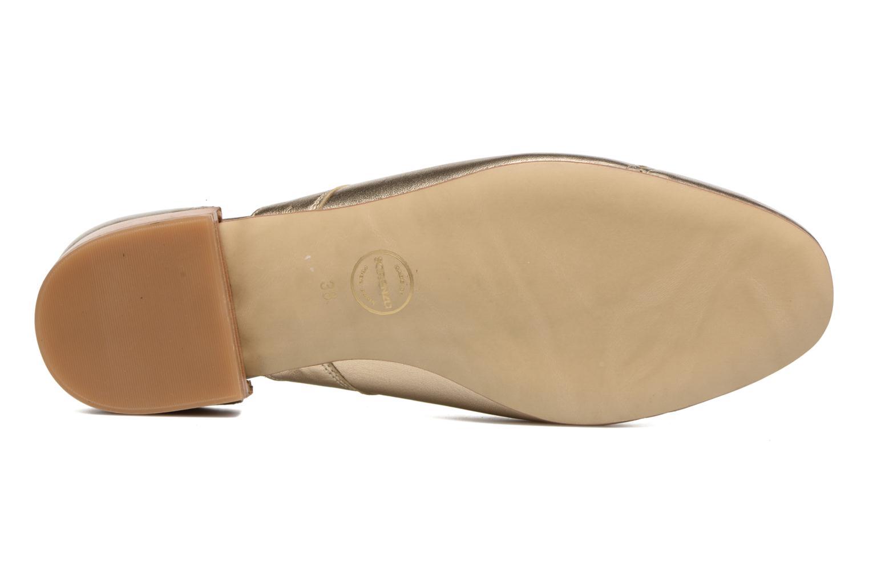 Schnürschuhe Made by SARENZA Mariachichi #3 gold/bronze ansicht von oben