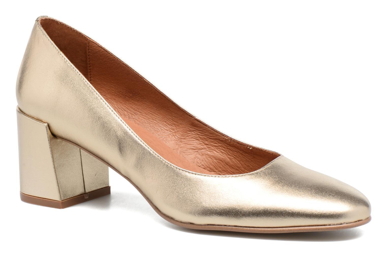 Zapatos de tacón Made by SARENZA Rock-a-hula #11 Oro y bronce vista lateral derecha