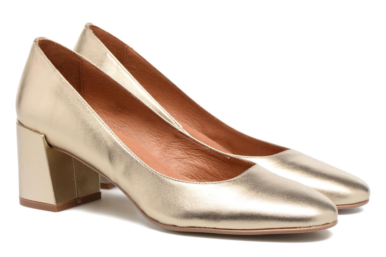 Zapatos de tacón Made by SARENZA Rock-a-hula #11 Oro y bronce vistra trasera