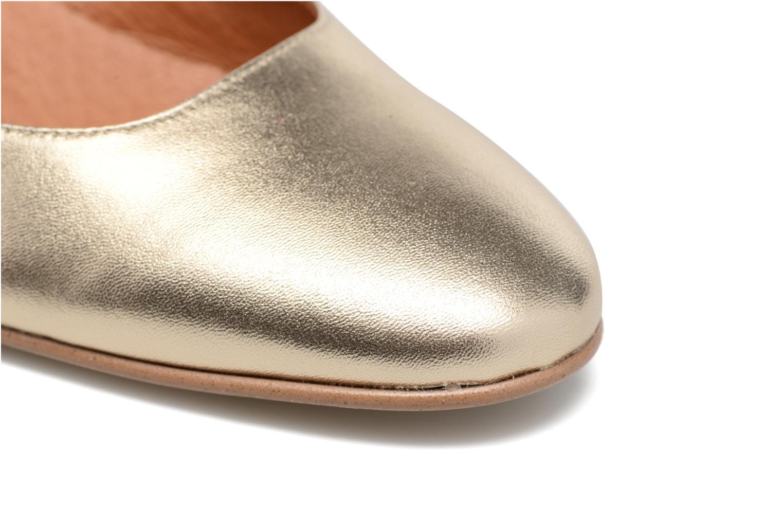 Zapatos de tacón Made by SARENZA Rock-a-hula #11 Oro y bronce vista lateral izquierda