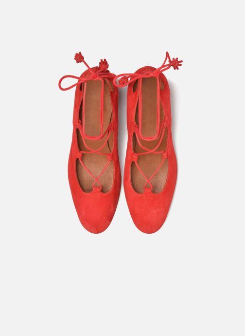 Escarpins Made by SARENZA Mexicoco #4 Rouge vue portées chaussures