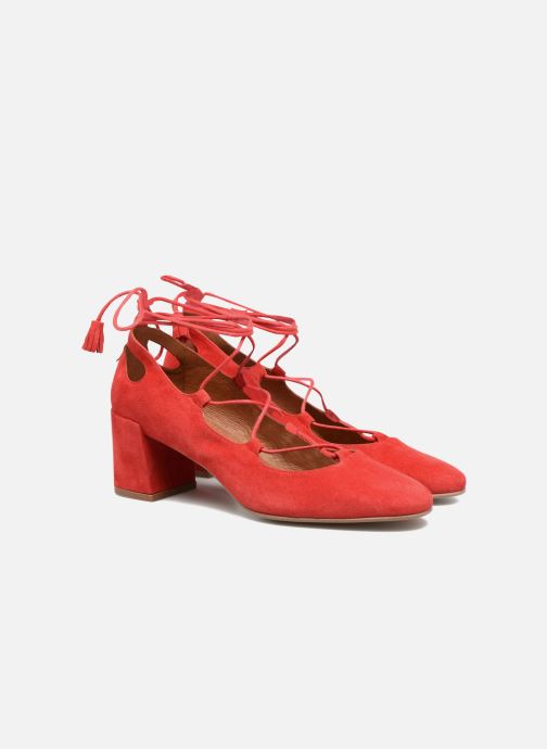 Pumps Made by SARENZA Mexicoco #4 Rood achterkant