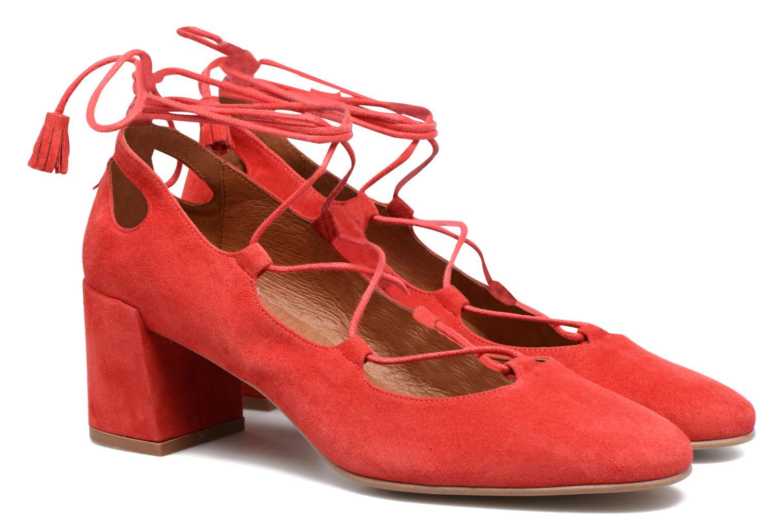 Escarpins Made by SARENZA Mexicoco #4 Rouge vue derrière