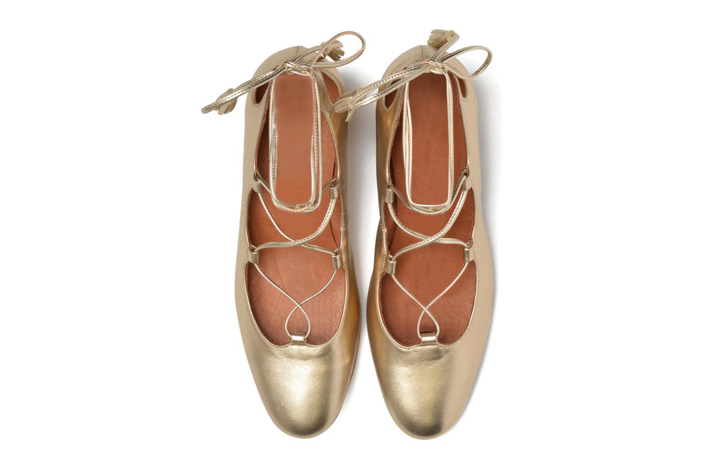 Escarpins Made by SARENZA Mexicoco #4 Or et bronze vue portées chaussures