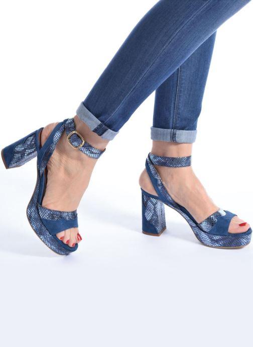 Sandalias Made by SARENZA Tennesse Sister #2 Azul vista de abajo