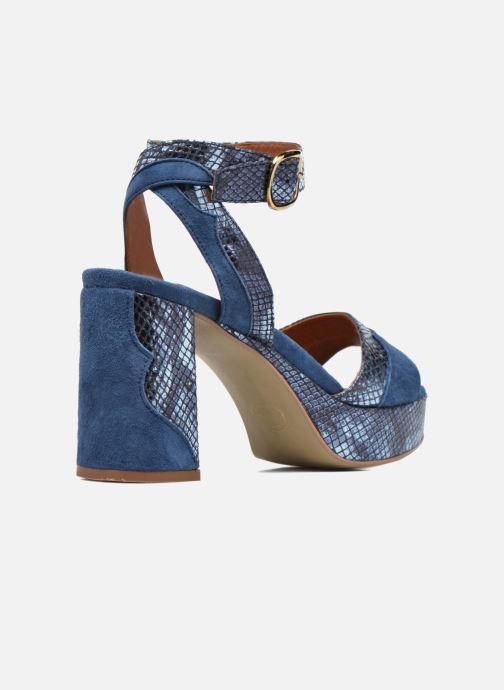 Sandales et nu-pieds Made by SARENZA Tennesse Sister #2 Bleu vue face