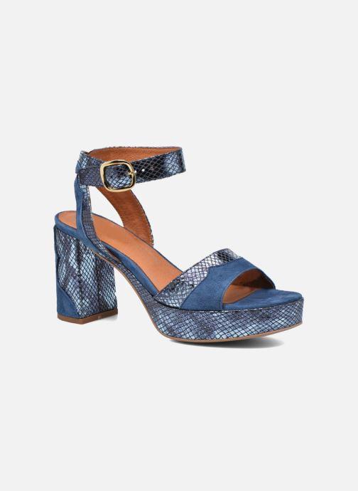 Sandalias Made by SARENZA Tennesse Sister #2 Azul vista lateral derecha