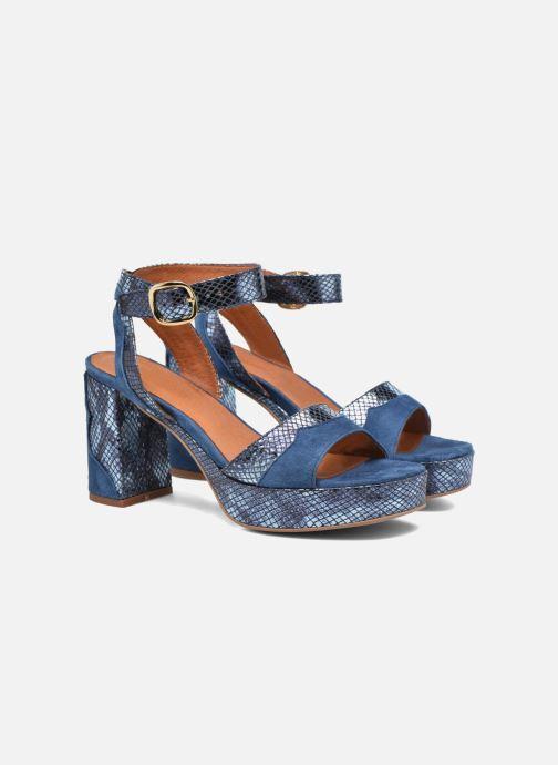 Sandales et nu-pieds Made by SARENZA Tennesse Sister #2 Bleu vue derrière