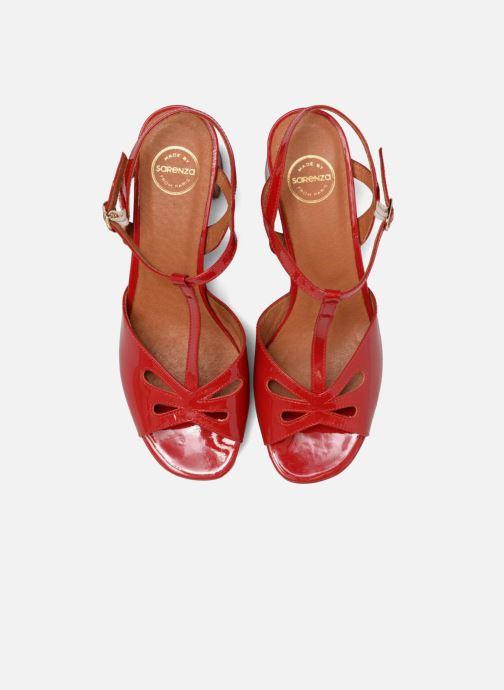 Sandalen Made by SARENZA Tennesse Sister #3 rot schuhe getragen