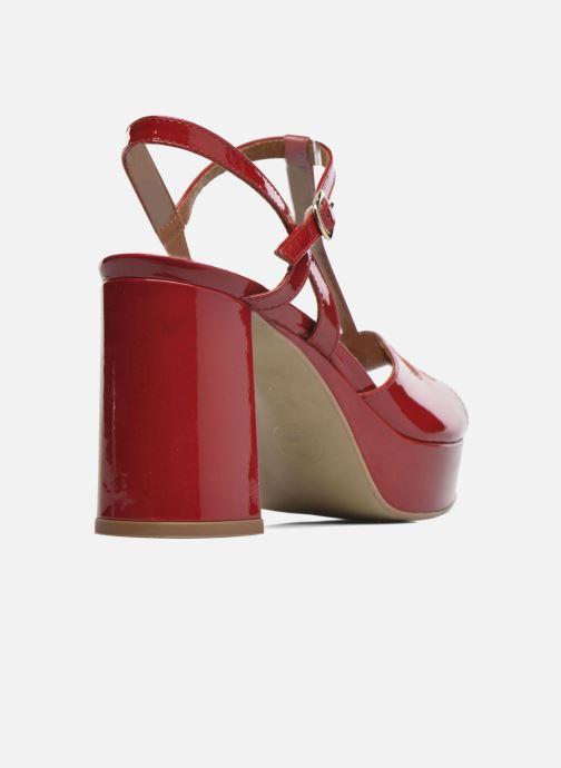 Sandalen Made by SARENZA Tennesse Sister #3 rot ansicht von vorne