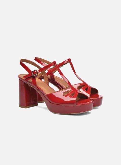 Sandalen Made by SARENZA Tennesse Sister #3 rot ansicht von hinten