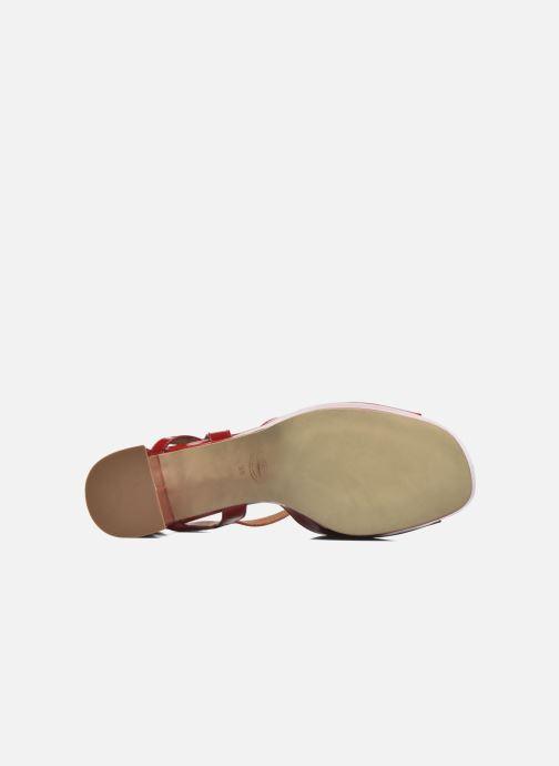 Sandalen Made by SARENZA Tennesse Sister #3 rot ansicht von oben
