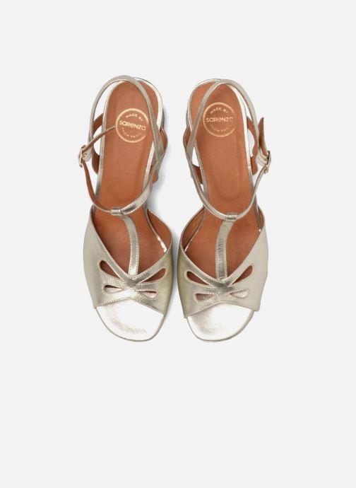 Sandalen Made by SARENZA Tennesse Sister #3 gold/bronze schuhe getragen
