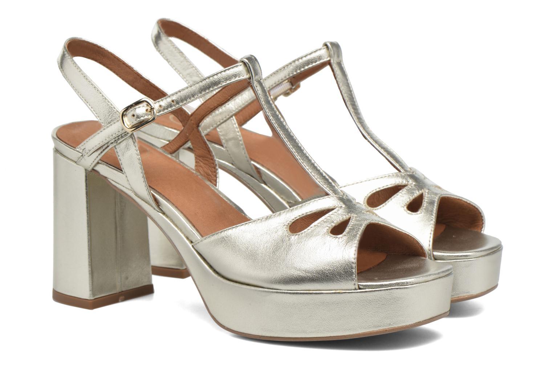 Sandaler Made by SARENZA Tennesse Sister #3 Guld og bronze se bagfra