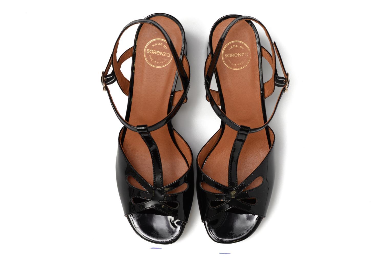 Sandalen Made by SARENZA Tennesse Sister #3 schwarz schuhe getragen