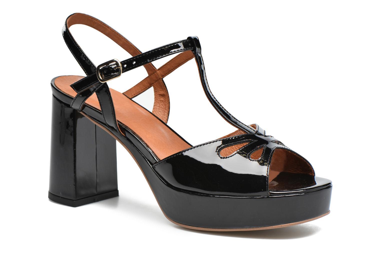 Sandalen Made by SARENZA Tennesse Sister #3 schwarz ansicht von rechts