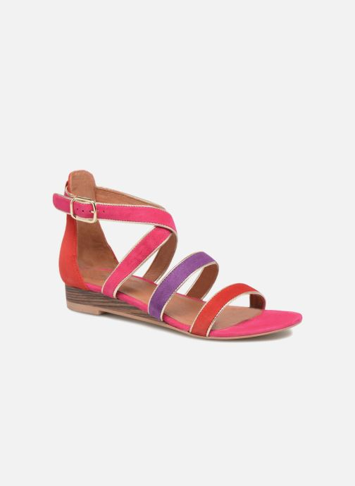 Velours By Cuir pieds Sarenza Et Urbafrican Plates2 Multico RougeFushia Made Sandales Nu zVMpLSUGjq