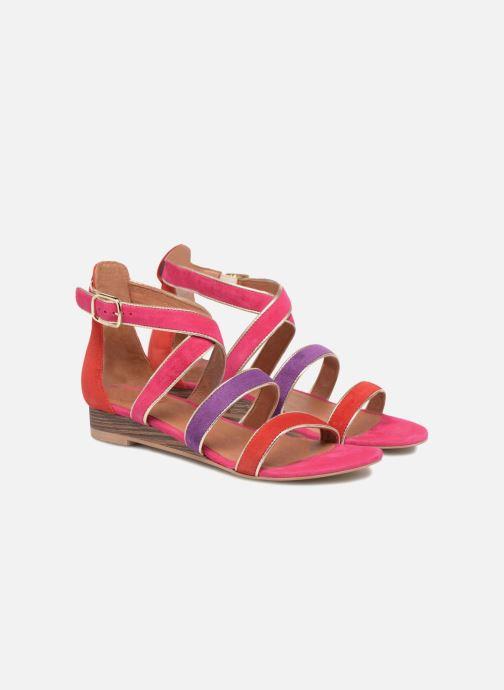 Sandales et nu-pieds Made by SARENZA Riviera Couture Sandales Plates #3 Multicolore vue derrière