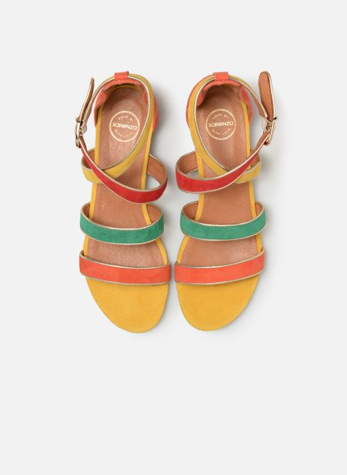 Sandals Made by SARENZA UrbAfrican Sandales Plates #2 Multicolor model view