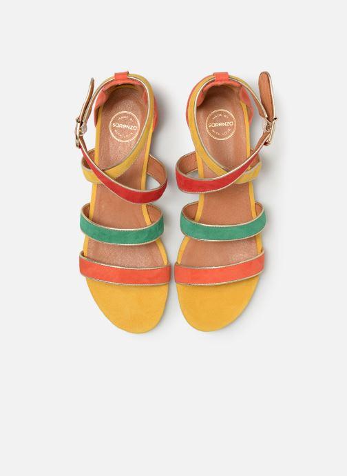 Sandales et nu-pieds Made by SARENZA Riviera Couture Sandales Plates #3 Multicolore vue portées chaussures