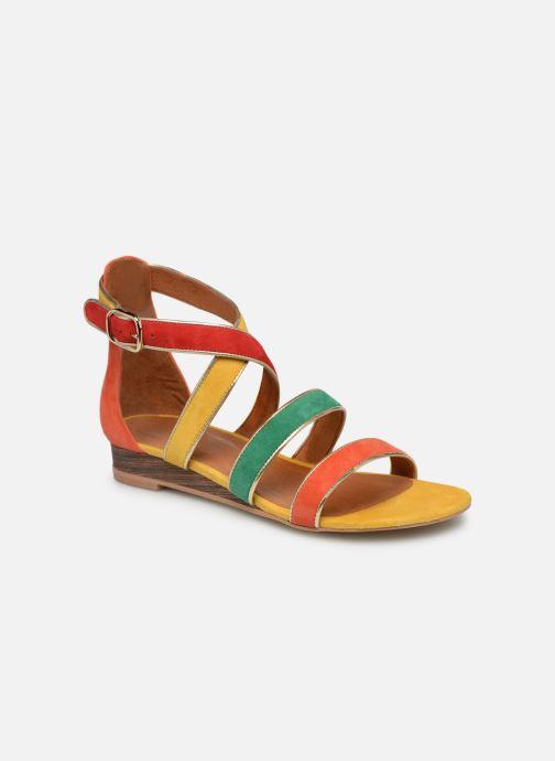 Sandales et nu-pieds Made by SARENZA Riviera Couture Sandales Plates #3 Multicolore vue droite