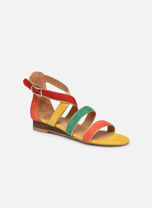 Sandalen Made by SARENZA Riviera Couture Sandales Plates #3 mehrfarbig ansicht von rechts